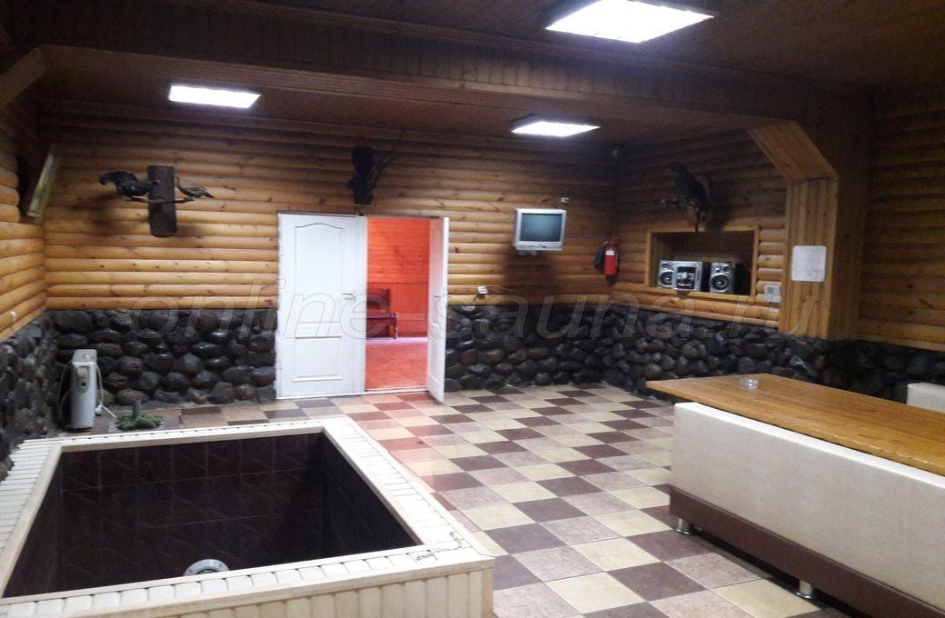 Охота, русская баня